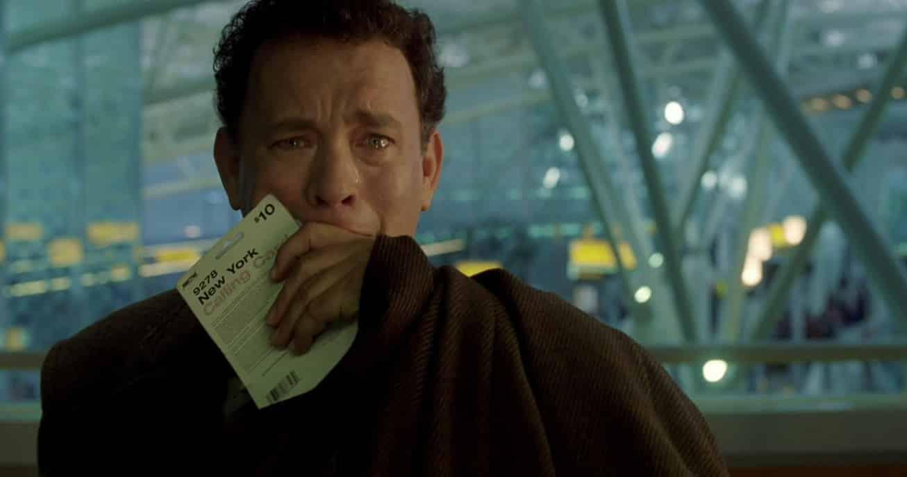 Hanks interpretó a Viktor Navorski