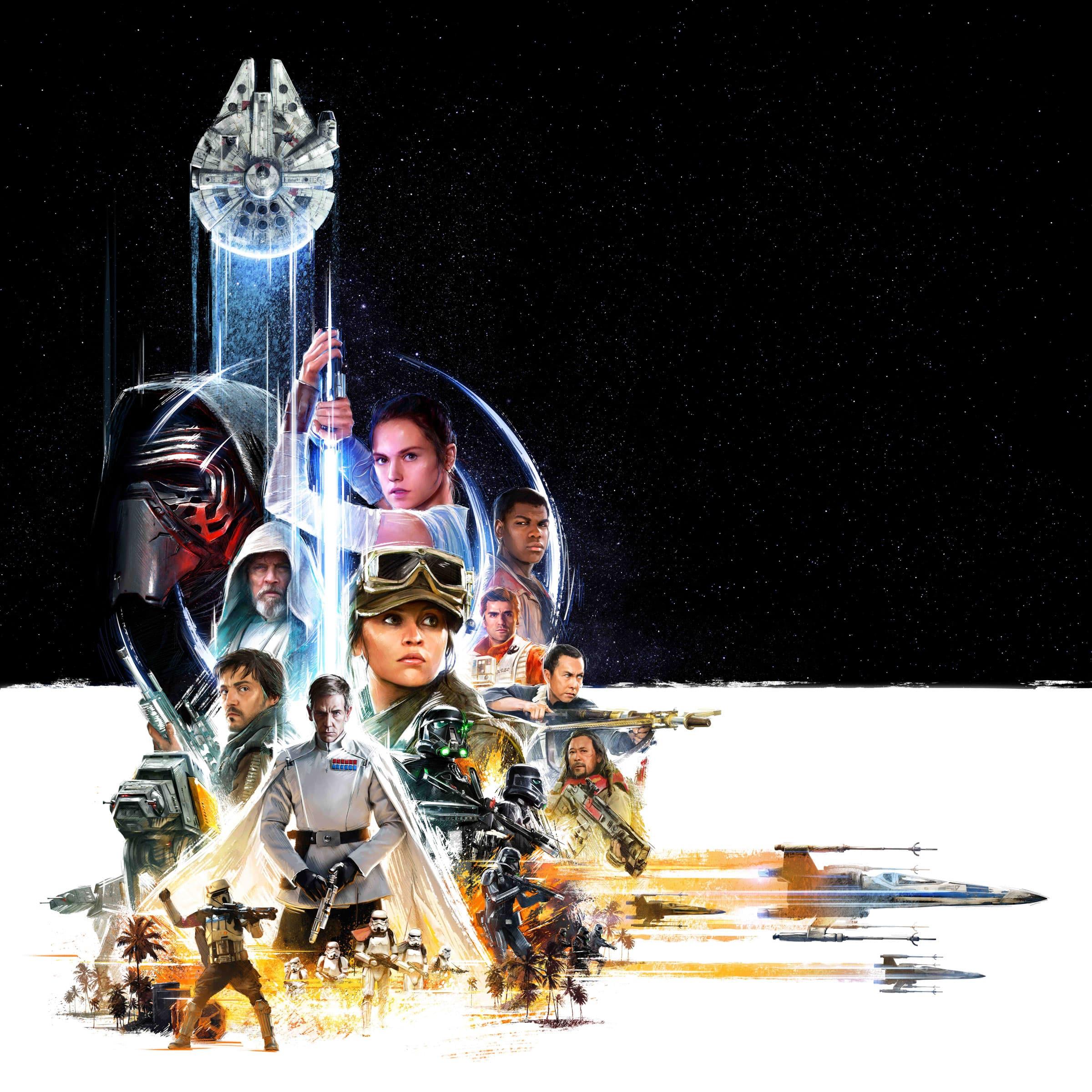 el Key art de Star Wars celebration 2016