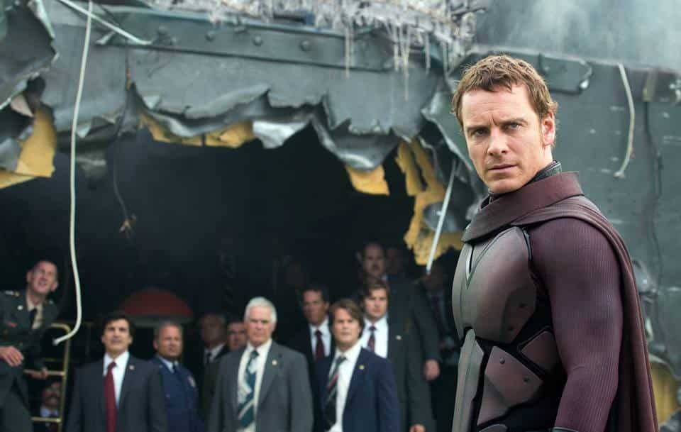 Michael Fassbender interpretando a un joven Erik Lensherr (Magneto) en Magneto X-MEN: DOFP (Days Of Future Past)