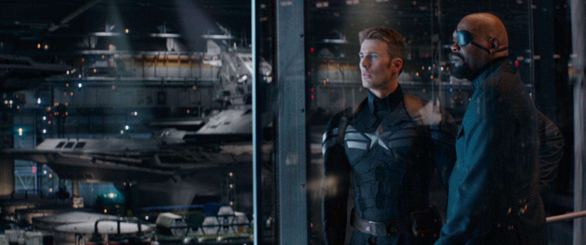 Cap, Nick Fury