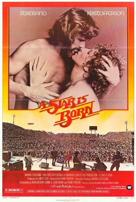 El póster original de la película que le dió dos óscares a Barbra Streissand