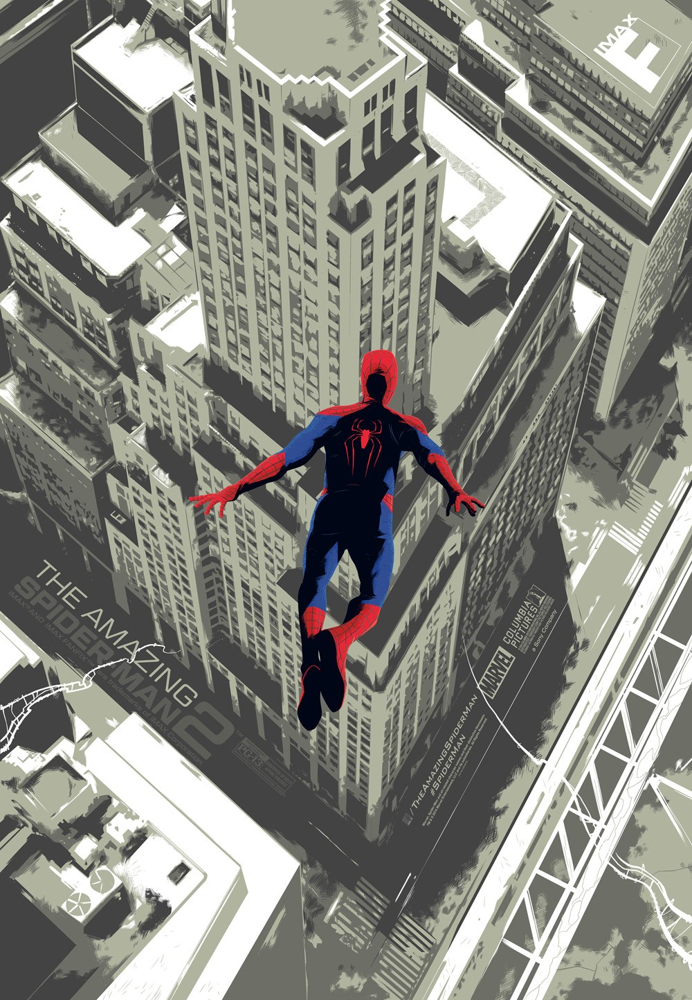 The Amazing Spider Man 2 Mondo