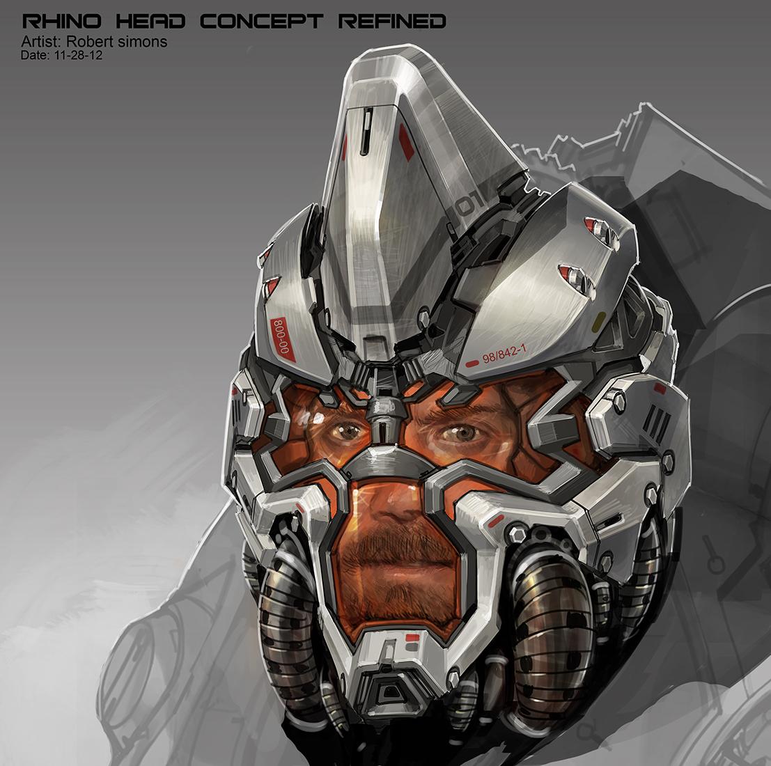 Rhino Concept Art  3