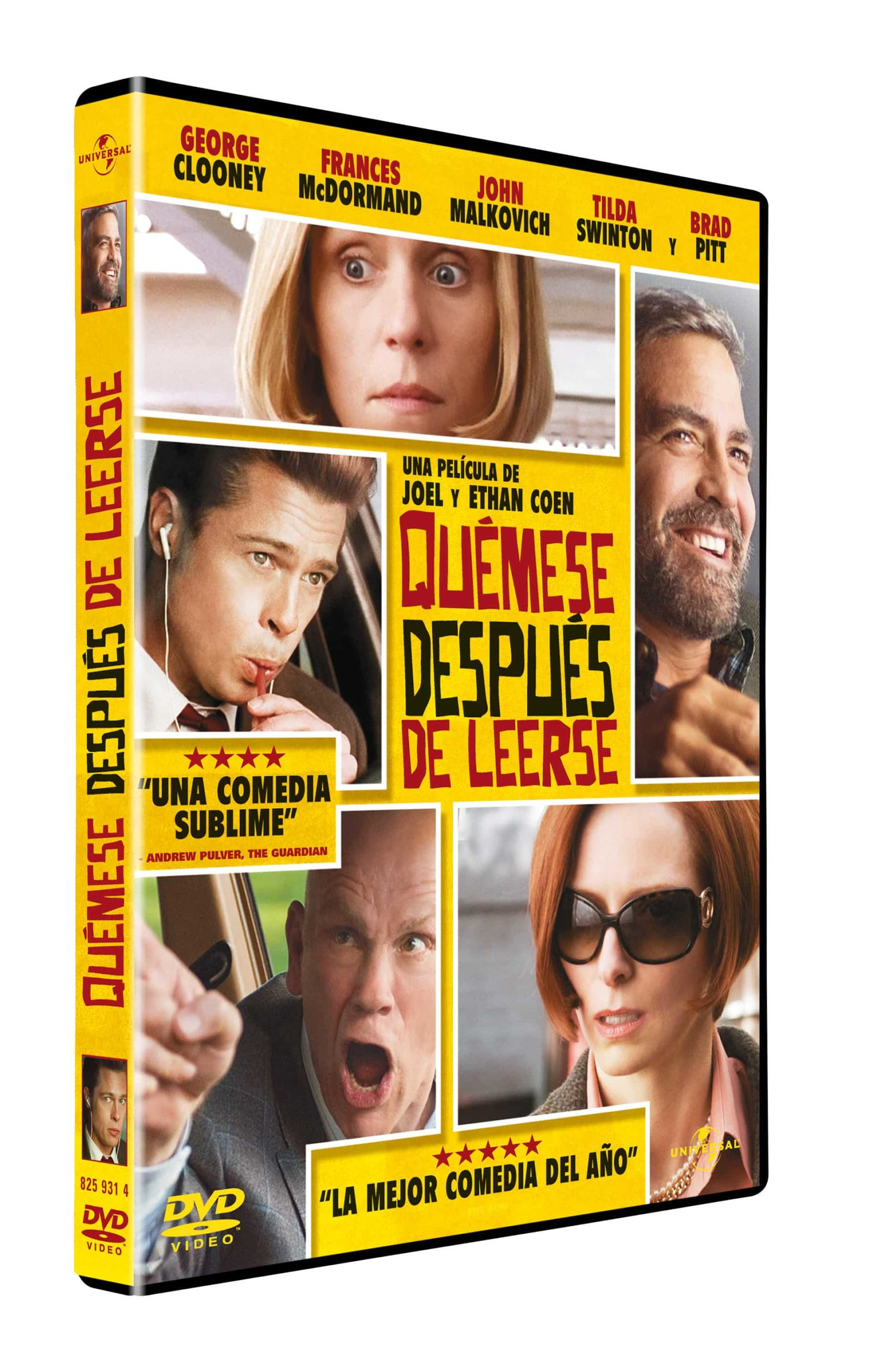 DVD de Quémese Después de Leerse