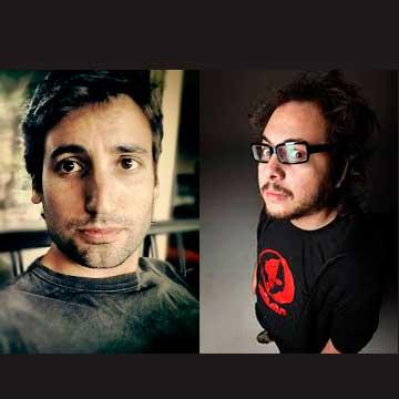 """Nicolás López y Guillermo Amoedo, guionistas de """"Knock Knock"""""""