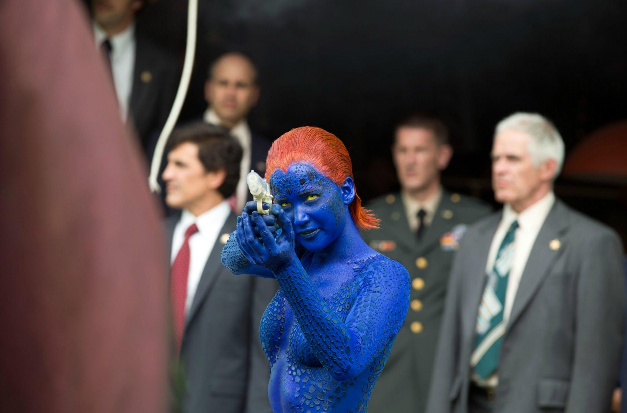 Mystique-Jennifer Lawrence