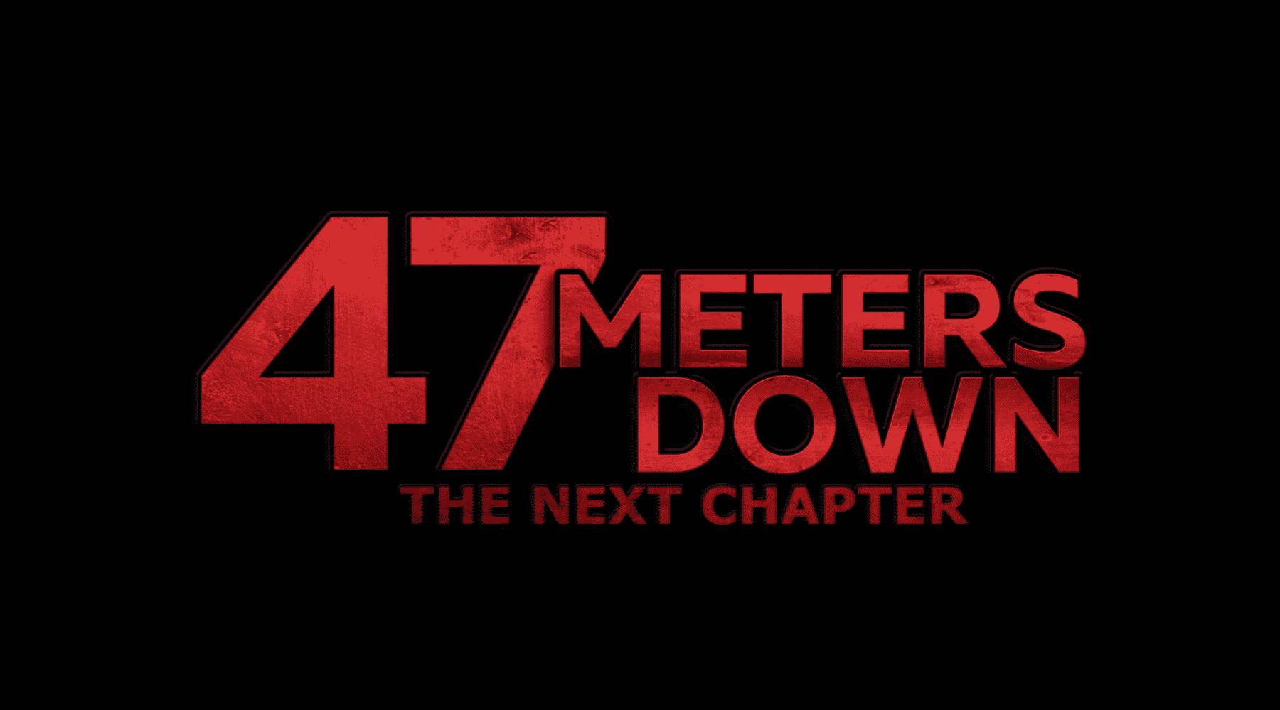 La secuela 47 Meters Down: The Next Chapter revela teaser tráiler y anuncia estreno para 2019.