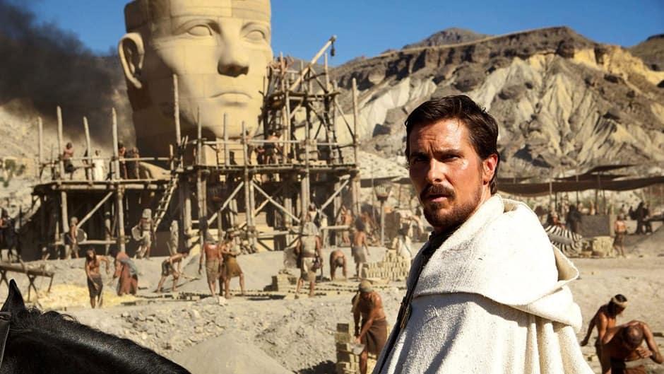 Christian Bale dijo que Moises era un bárbaro y esquizofrénico
