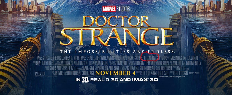 Doctor Strange, Marvel, Benjamin Bratt