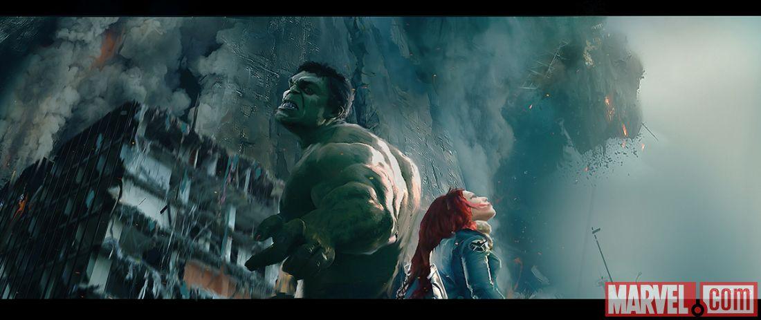 Hulk Black Widow