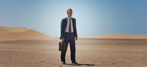 "Tom Hanks en ""A hologram for a king"""