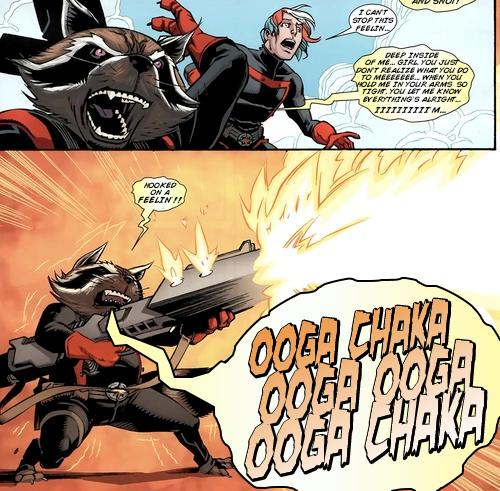 Hooked On A Feeling Guardians Of The Galaxy Comic