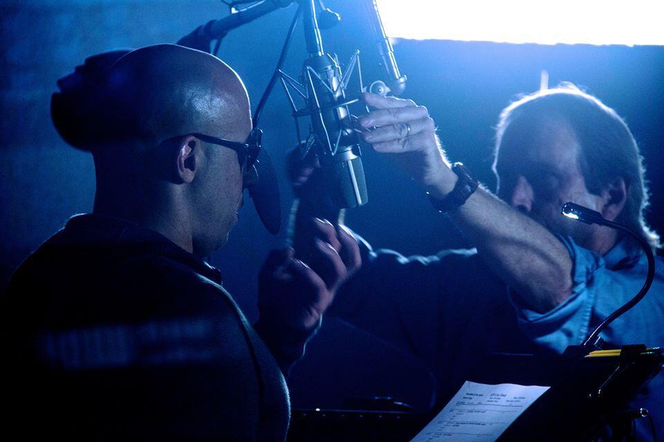 Vin Diesel Grabación