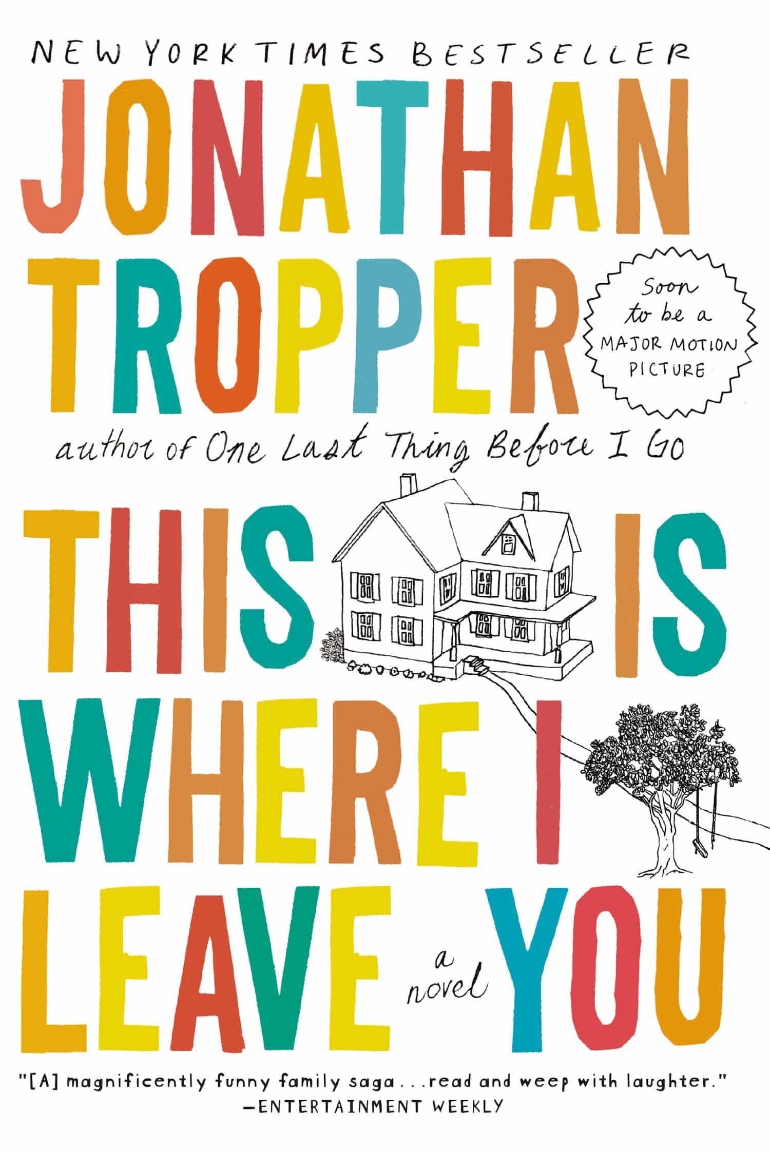 This is Where i Leave You / portada del libro