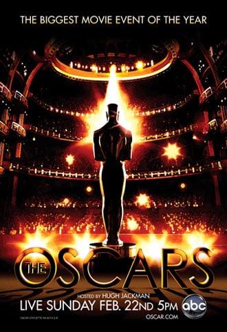 Poster oficial de la 81a entrega de los Premios de la Academia