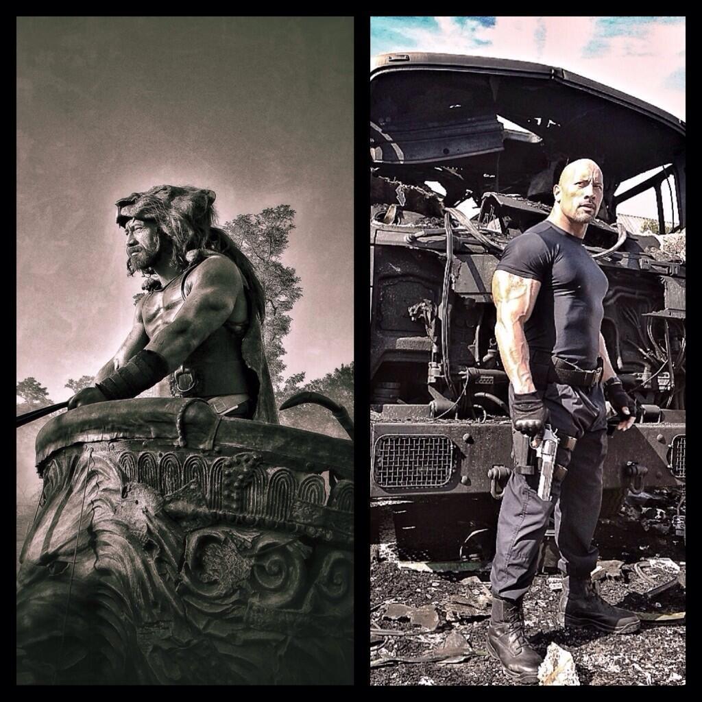 The Rock, Hercules, Fast 7