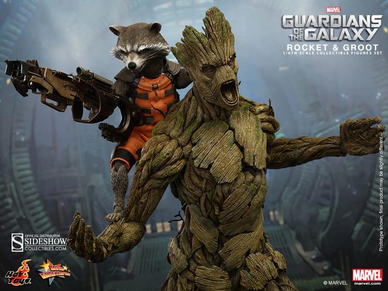 Rocket y Groot a 360 dólares
