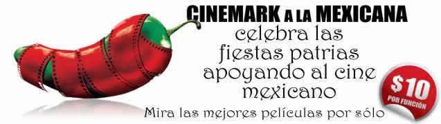 Cinemark a la mexicana