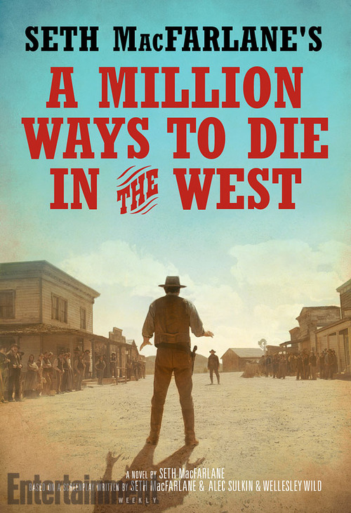 Portada de A Million Ways to Die in the West de Seth MacFarlane