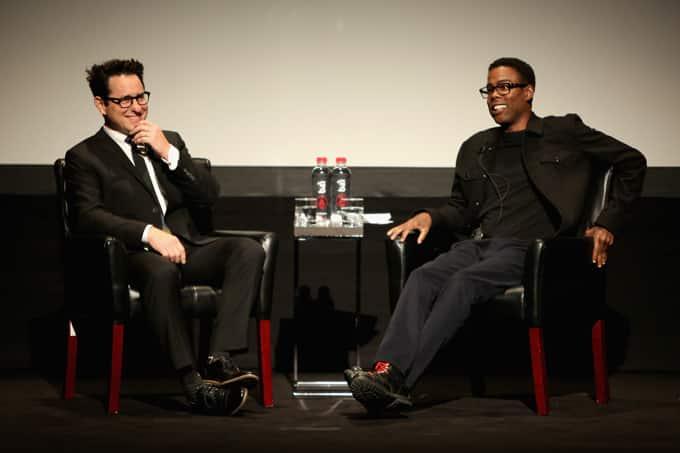 J.J. Abrams y Chris Rock en el Tribeca Film Festival