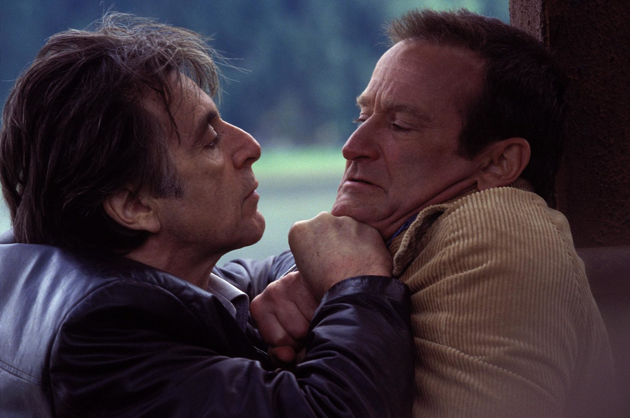 "Al Pacino y Robin Williams en ""Insomnia"""