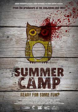 "Cartel de la película ""Summer Camp"""