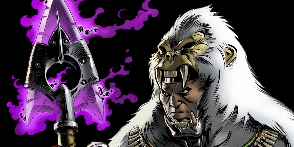 Hombre Mono, Black Panther