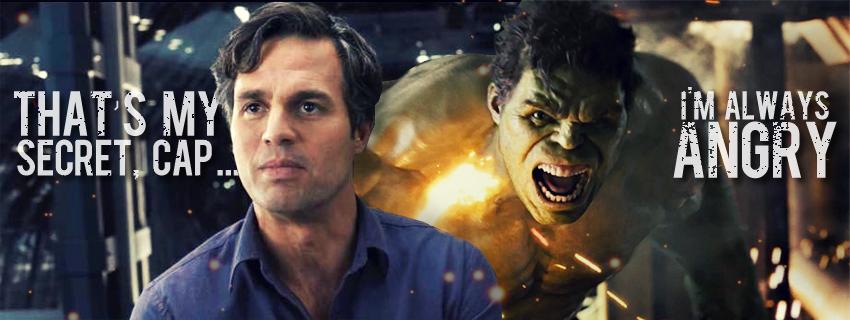 Bruce Banner Hulk Ruffalo