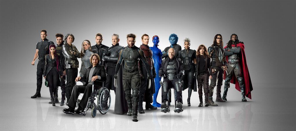 X-MEN: DOFP Cast Banner