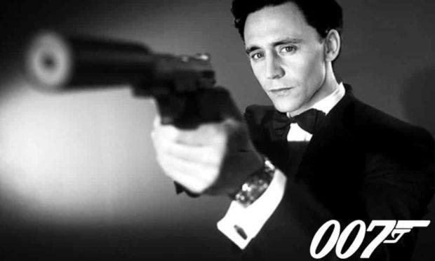 James Bond Tom Hiddleston