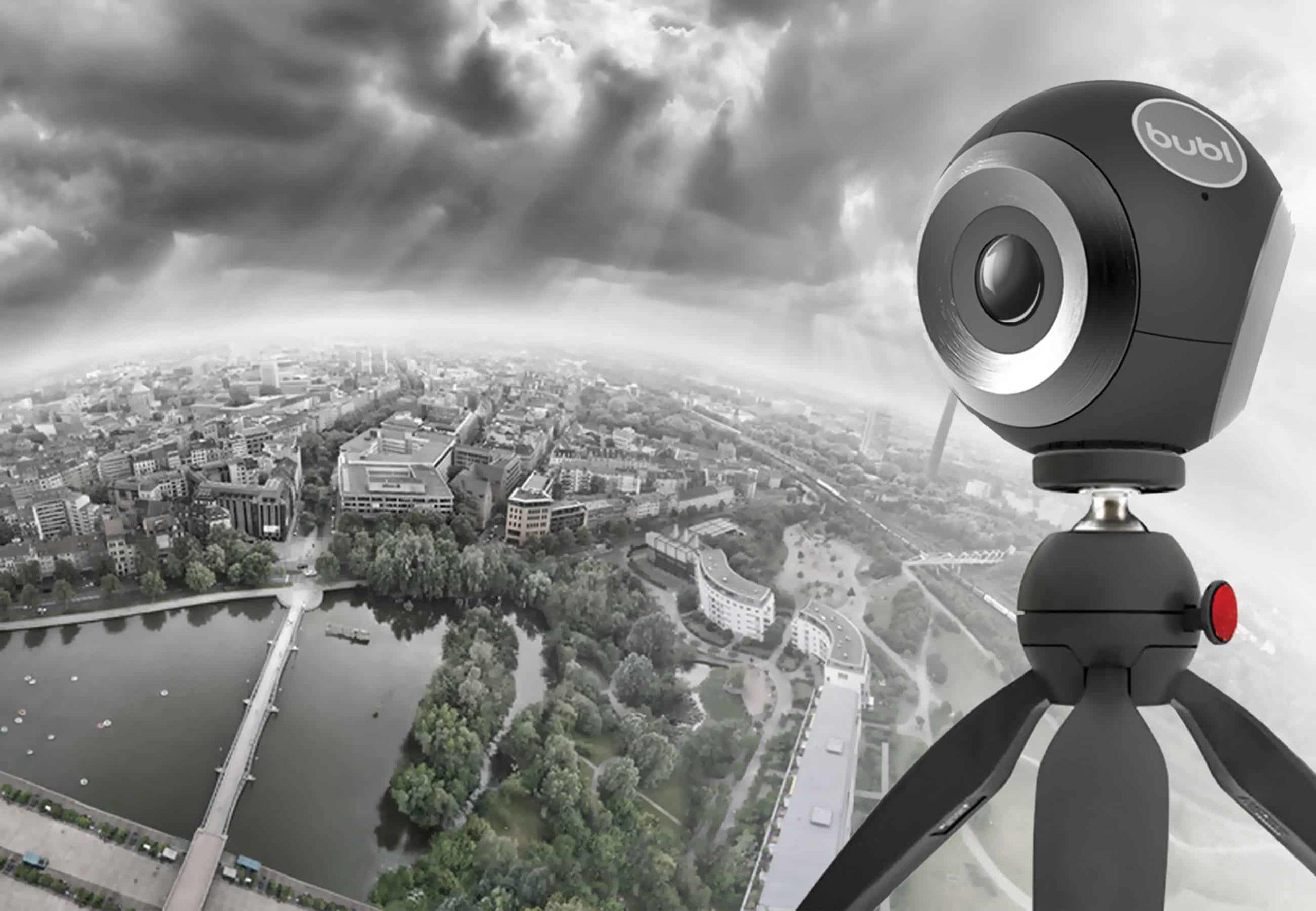 Bublcam vídeo en 360 grados