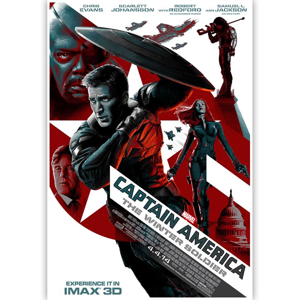 IMAX Poster Captain Ameirca: TWS
