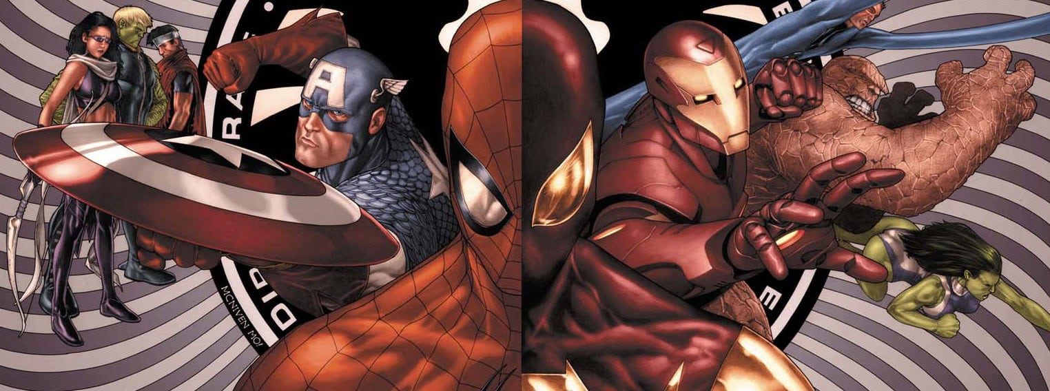 Spider Man Civil WAR
