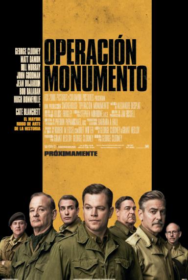 Póster de Operación Monumento