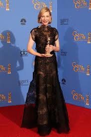 Cate Blanchet en los Golden Globe