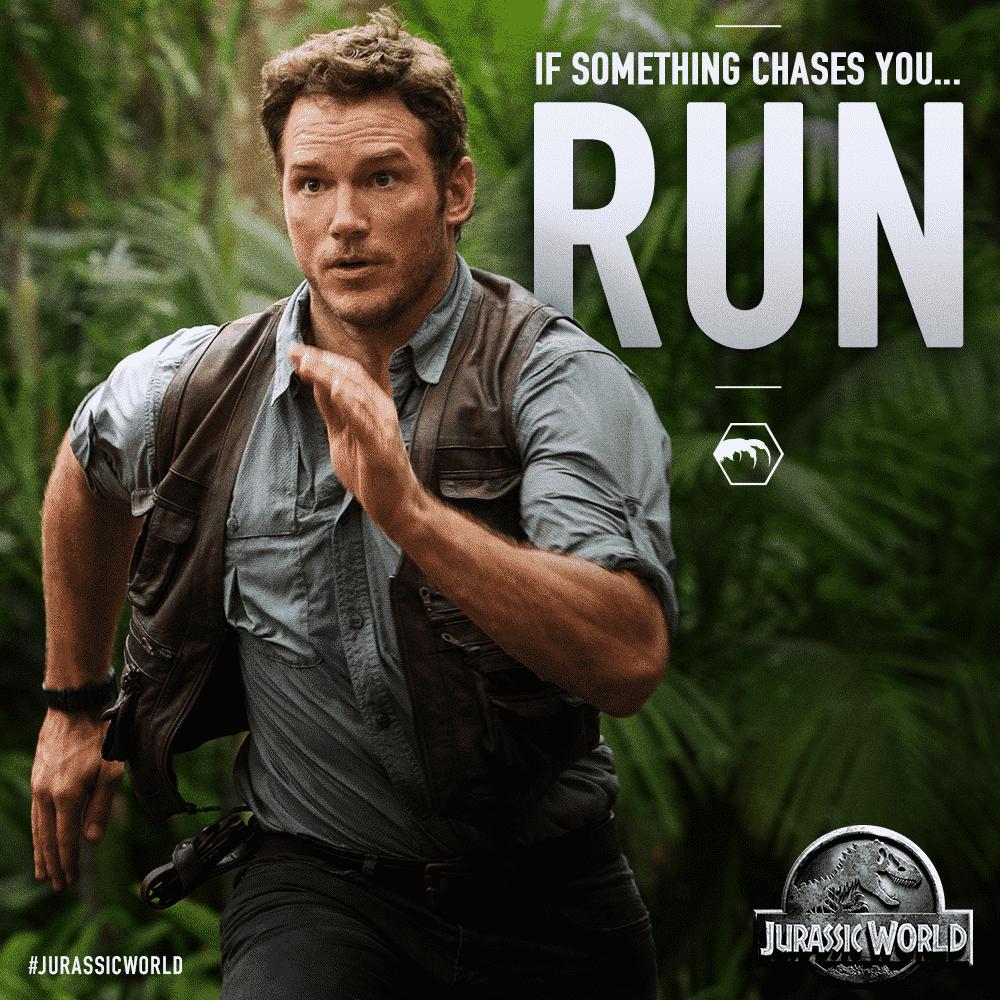 Chris Pratt Jurassic World