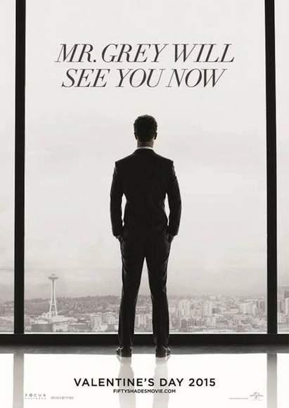 Poster promocional de 50 Sombras de Grey