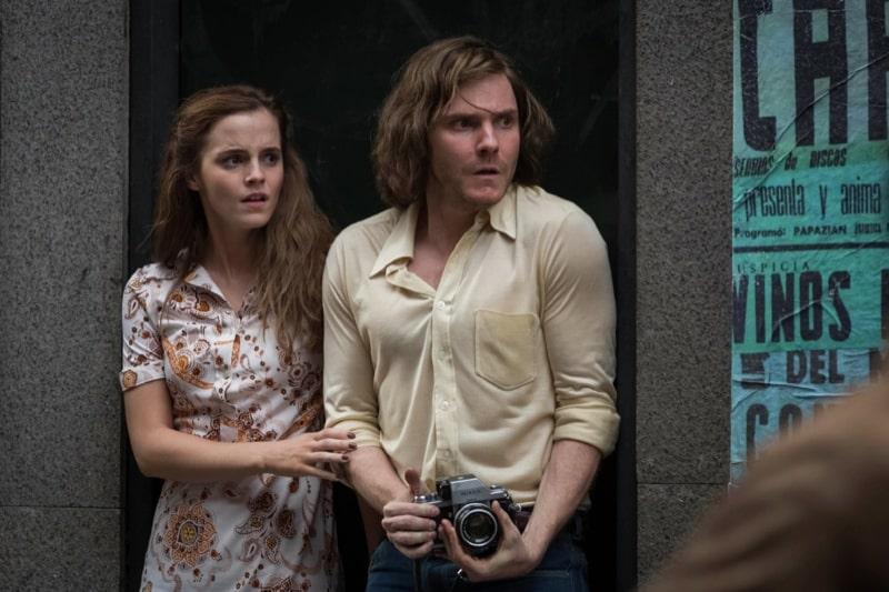 Emma Watson y Daniel Brühl protagonizan la cinta basada en hechos reales, 'Colonia'.