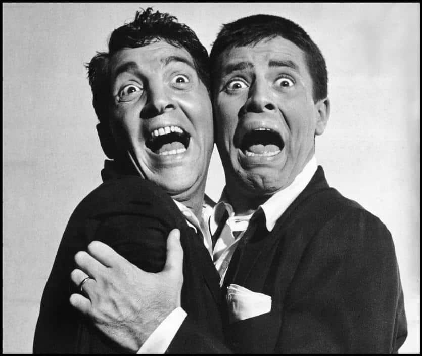 Dean Martin y Jerry Lewis