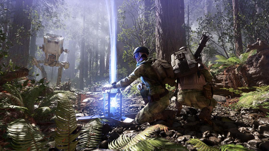 Frostbite se luce en esta entrega de Star Wars Battlefront