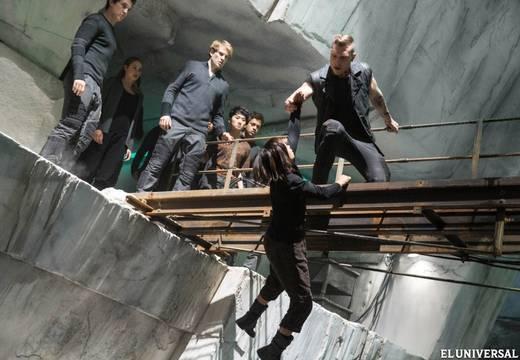Divergent escena