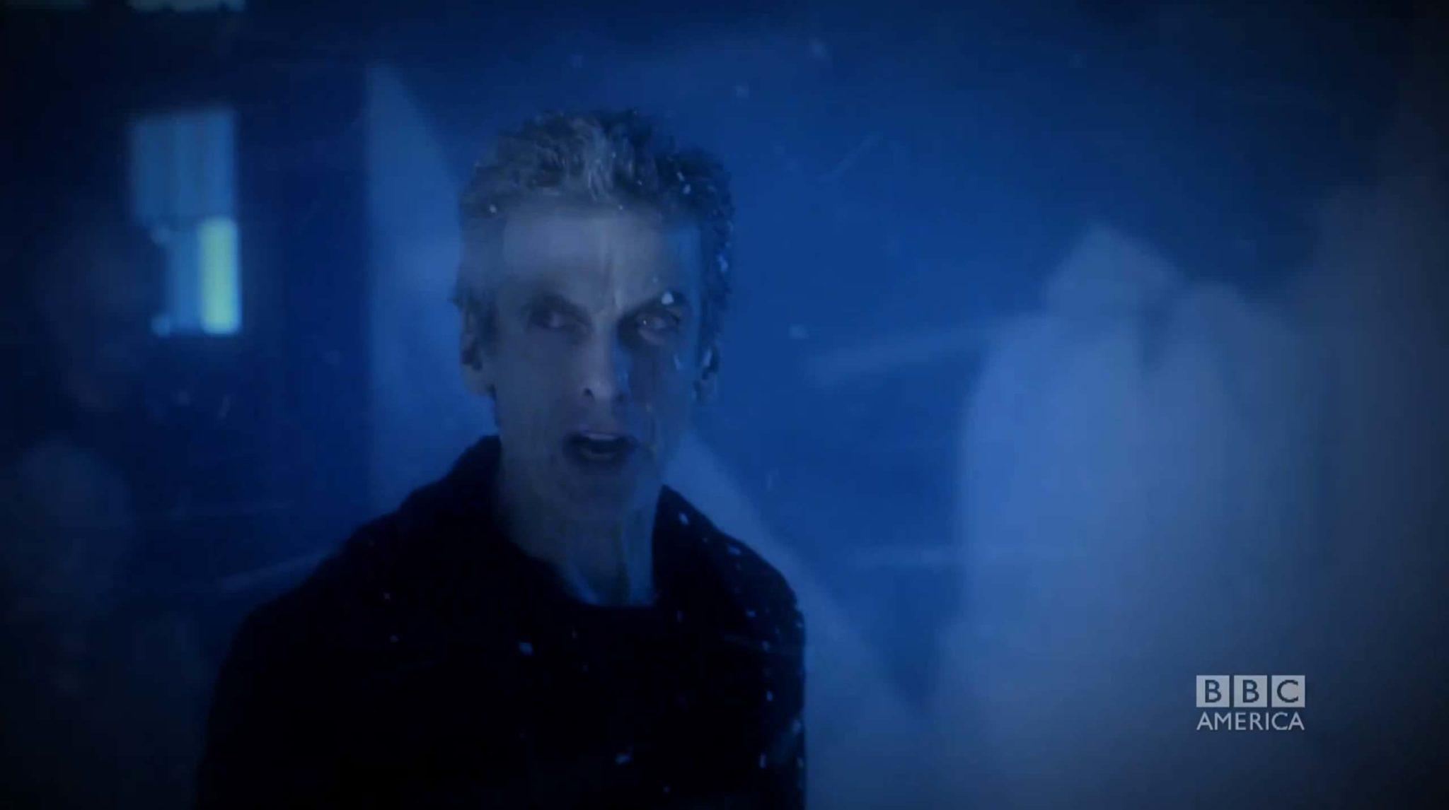 Imagen promocional de Doctor Who en BBC y BBC Entertainment, show actualmente en su 9na Temporada. Peter Moffat showrunner de Doctor Who ha anunciado que después de 6 años dejará su rol en el show y Chris Chibnall tomará el rol de showrunner. Doctor Who está basado en la serie original de los 60's, esta en una nueva adaptación, estelarizada por Peter Capaldi de momento.