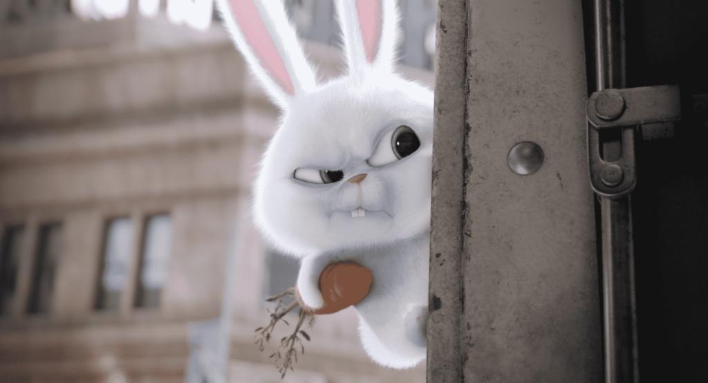Kevin Hart como Snowball, uno de los personajes más interesantes de la cinta