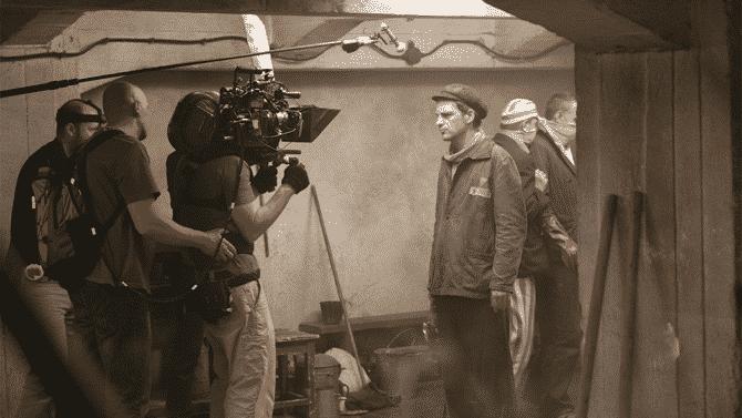 La cinta se registró en un cuadro un poco más ancho que el 4:3, y filmado con un lente de 40mm, siempre cerca de su protagonista