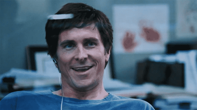 Christian Bale como Michael Burry