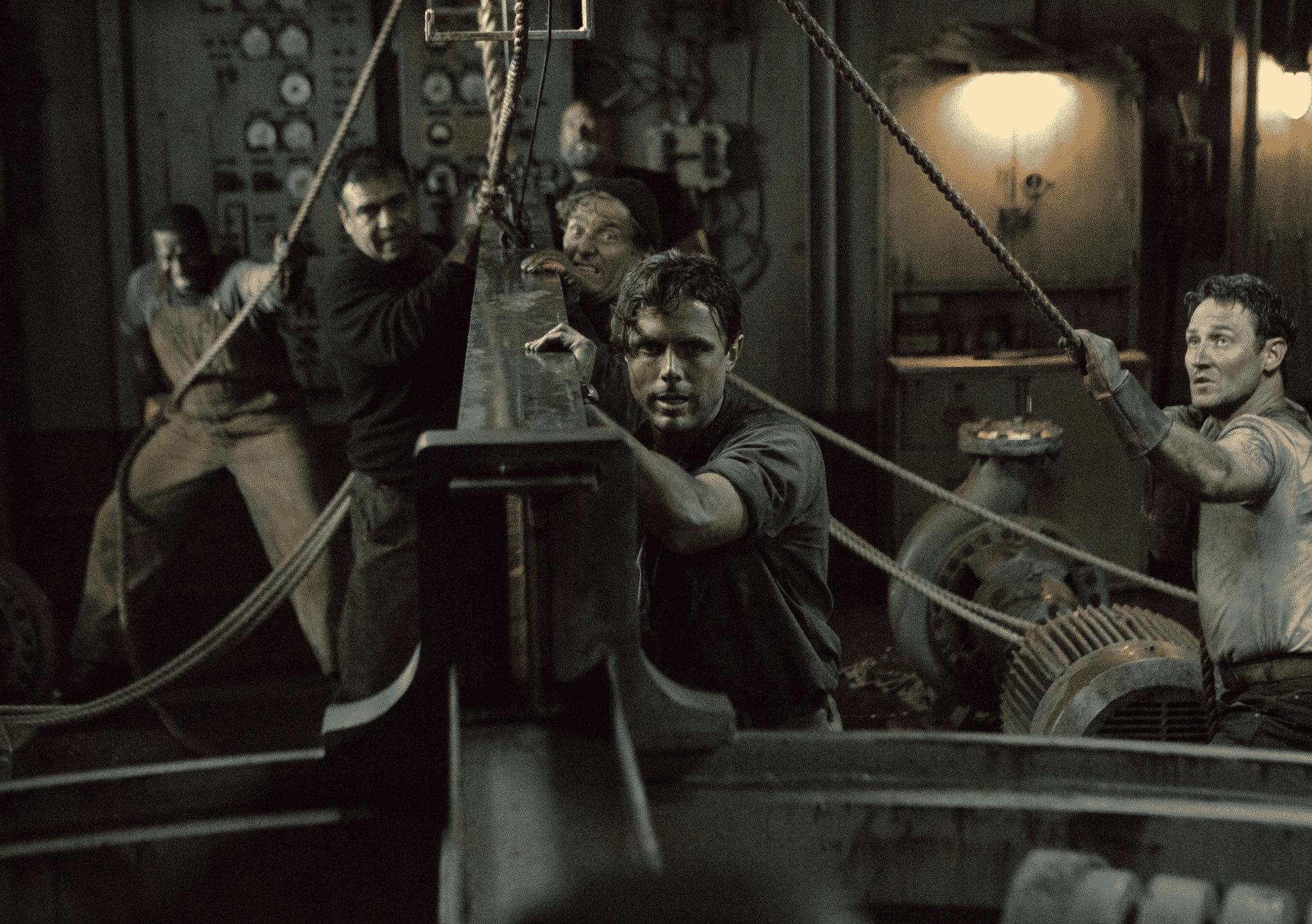 Casey Affleck como el capitán de una nave en peligro