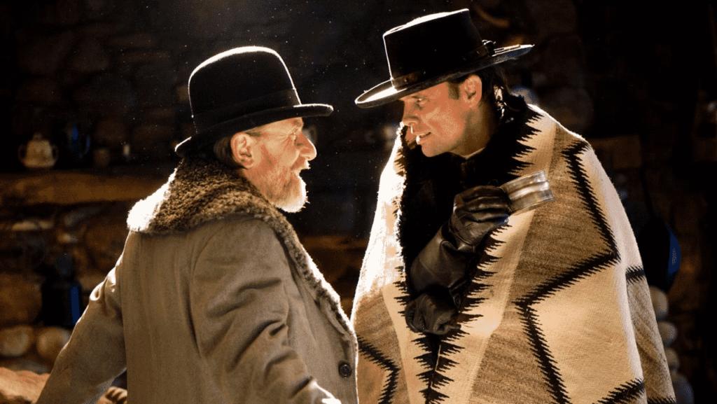 Tim Roth y Walton Goggins en Los 8 más Odiados