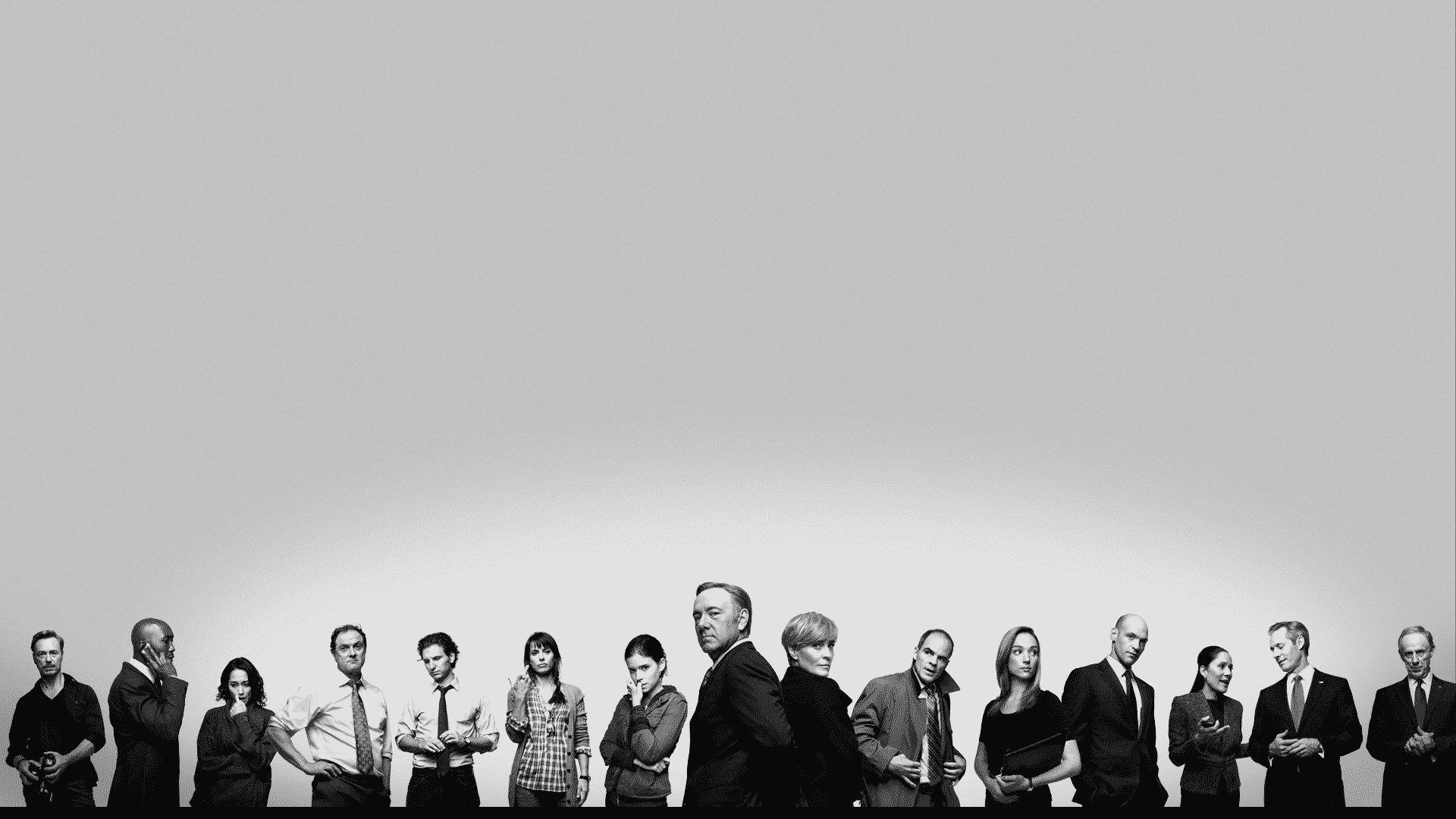 El elenco de House of Cards a través de los años