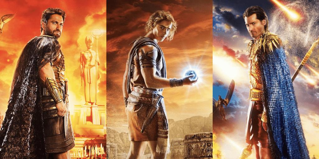 Set, Bek y Horus, protagonistas de Dioses de Egipto