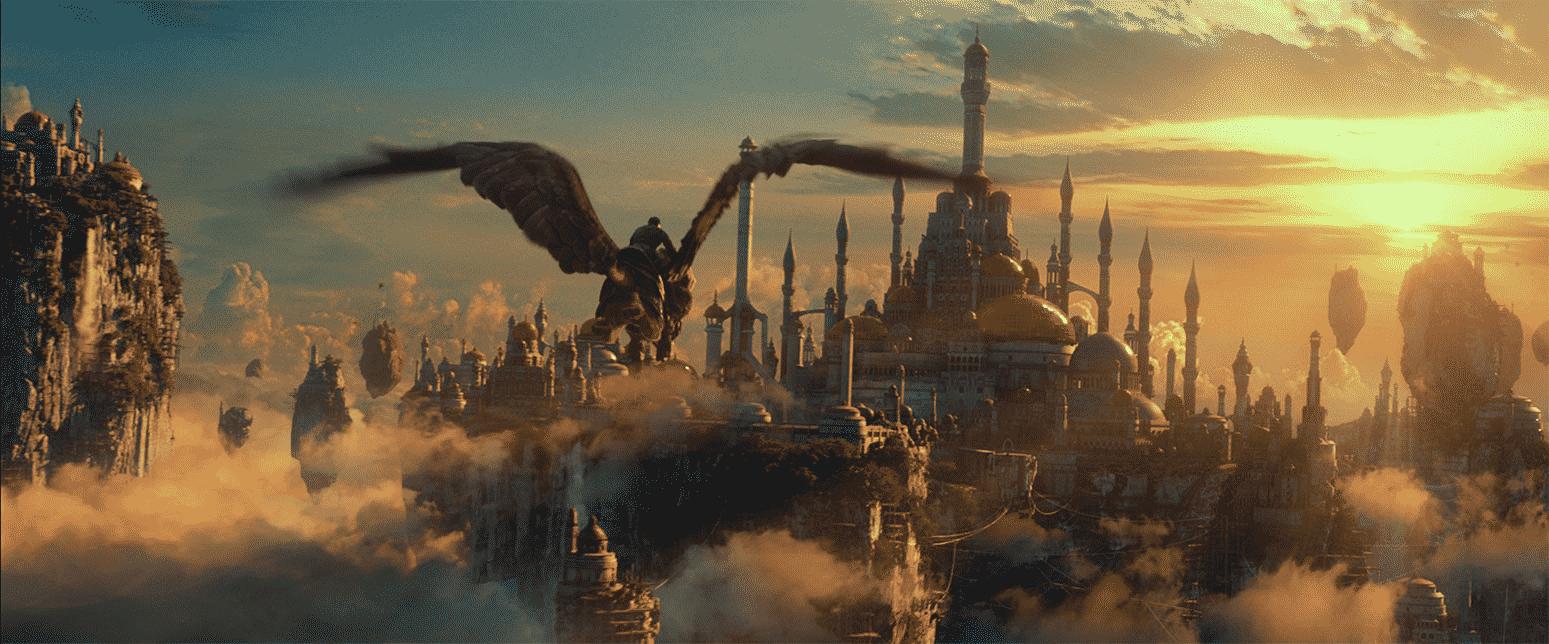 Uno de varios paisajes en WarCraft